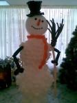 2-снеговик из шаров, 2метра, 250грн.