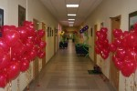 украшения офиса гелиевыми шарами