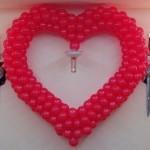 22-сердце из шаров 150см-140грн.