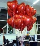 3-фольгированное сердце, 45см-33грн.