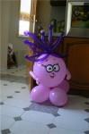 купить фигуру из шариков смешарик ежик
