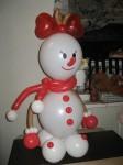 купить снеговика из шариков в Днепрпоетровске Киев