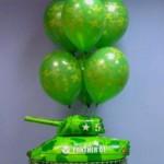 4b-танк из фольги, 75см-75грн.