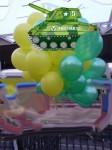 5-гелЕвые шары на 23 февраля