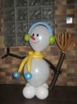 12 снеговик из шаров цена