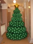 8-елка из шаров