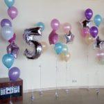 фотосессия с шарами ребенку 5 лет, гелиевые шарики, звезды