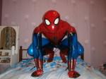 фольгированная фигура - человек-паук ростовая
