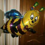 шарик фигура пчела 200грн