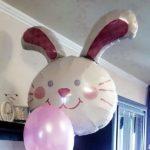 шар из фольги голова зайца, 115грн