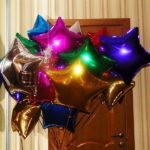 шары из фольги звезда разноцветные, 85грн/шт.