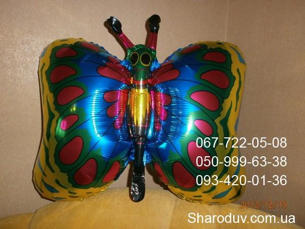 5-бабочка из фольги, 50см х 50см