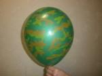 комуфлированный пятнистый шарик