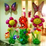 шар фигура бабочка 200грн/шт, шар цветок ромашка 150грн, шар цифра животное воздух 180грн, гелий 260грн/шт.