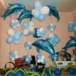 шарик из фольги дельфин, 200грн/шт