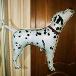 шарики из пленки собака далматинец, 200грн/шт.