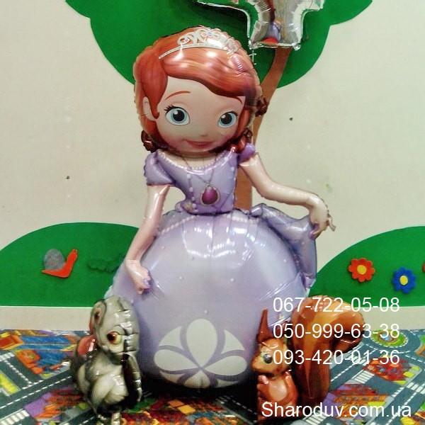 ходячий шар принцесса София 900грн.