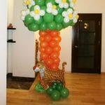 шарик фигура из фольги тигр, воздух 70грн, гелий 150грн