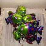 шарик из фольги рыбка, 200грн/шт.