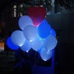 светящиеся шарики и светящееся сердце 30см - 45грн/шт.