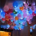 украшение квартиры светящимися шариками 25см - 40грн/шт.