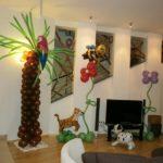 украшение зала шарами на детский праздник