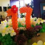 украшение квартиры шарами 17 лет