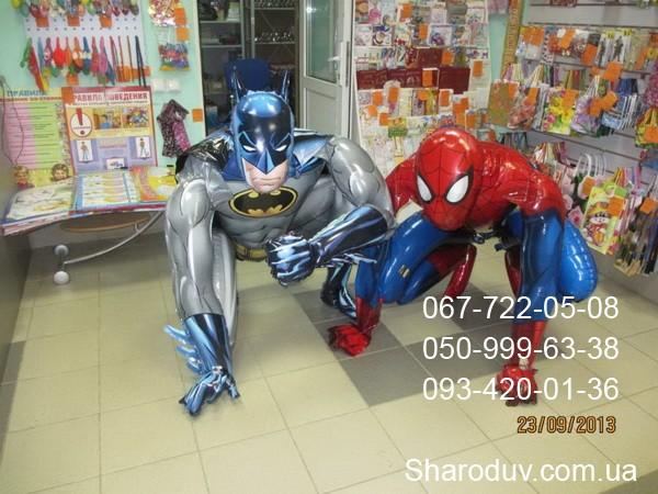 ходячая фигура Бэтмен, Спайдермэн