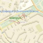 магазин Шародув на Яндекс карте