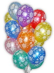 19 заказать гелиевые шарики с новым годом