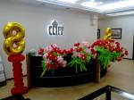 украшение офиса на 8 марта. Букеты цветов из шаров