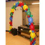 арка из летающих шаров