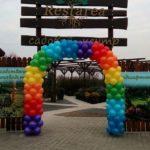 арка из шаров, цвет радуга, 1 метр 100грн
