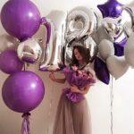фотосессия с шарами на 18 лет