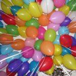 обработанные шарики среднего размера 25см, производство Италия, летают 1 - 2 дня, 15грн/шт