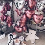 шарики сердца, материал фольга, 45см