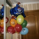 шарики с пиратами, 30см, 33грн/шт.
