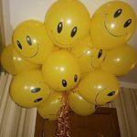 шарик смайл (улыбка) 30см 33грн/шт.