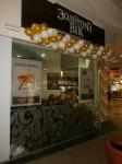 брендированные шарики с логотипом и печать на шарах, надув шаров воздухом и гелием Золотой век Караван, Днепропетровск