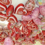 шарики сердце 45 см с надписью я тебя люблю
