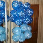обработанные шарики с надписью спасибо за сына, 30см, 22грн/шт.