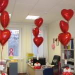 украшение кабинета в офисе на 8 марта