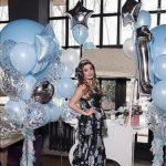 украшение зала шарами на день рождения, ребенку 1 год