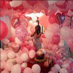украшение квартиры шарами на день рождение девушки
