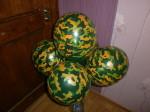 камуфляжные воздушные шары