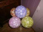 гелиевый шарик с печатью, 30см