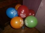 17 шары с рисунком ассорти Фиксики