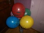 20 воздушные шары для мальчиков с рисунком машинки тачки, 30см
