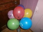 19 шары ассорти для девочек с рисунком Русалочка, фея, пони, котенок Китти, цыпленок, 30см