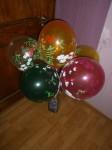 28 заказать воздушные шары с рисунком тема лето цветы, бабочки